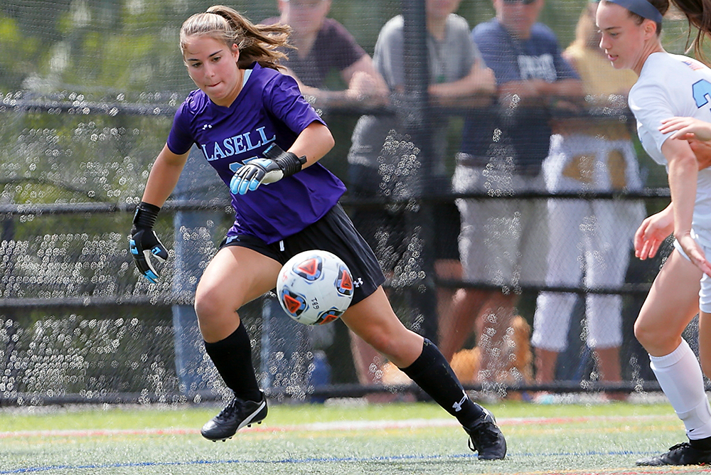 WSOC: Lasell edged by Suffolk in GNAC road game