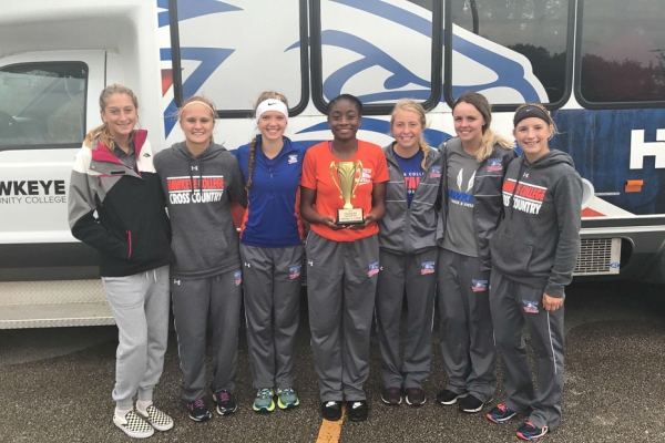 Women's Cross Country Takes 2nd at Fighting Bee Invitational