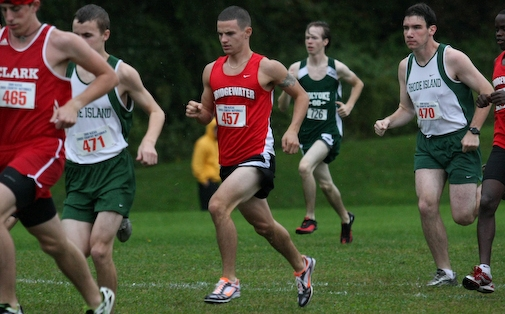 Men's Cross Country Places 21st at New England Regional