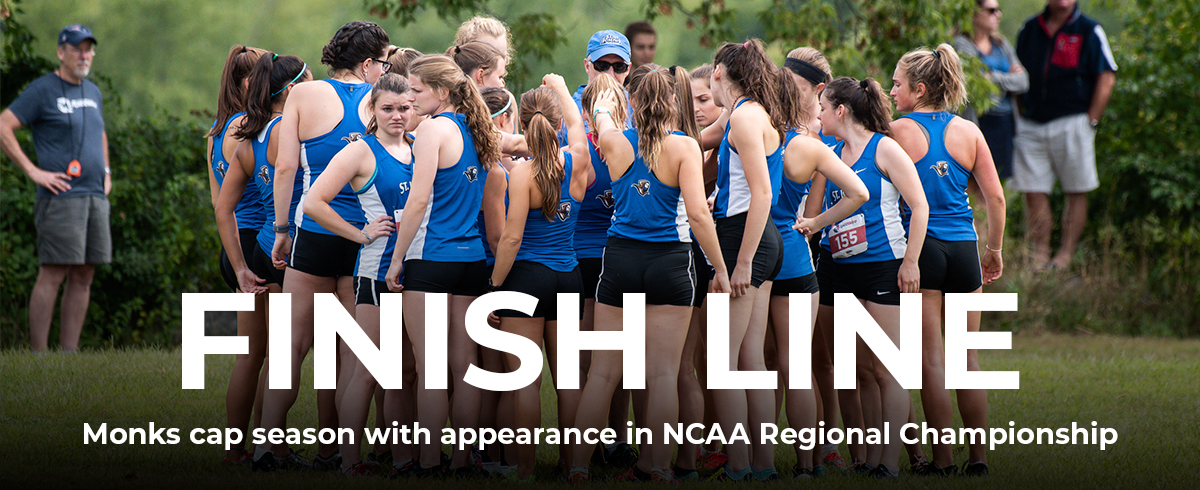 Monks Compete in NCAA DIII Cross Country Regional Championships