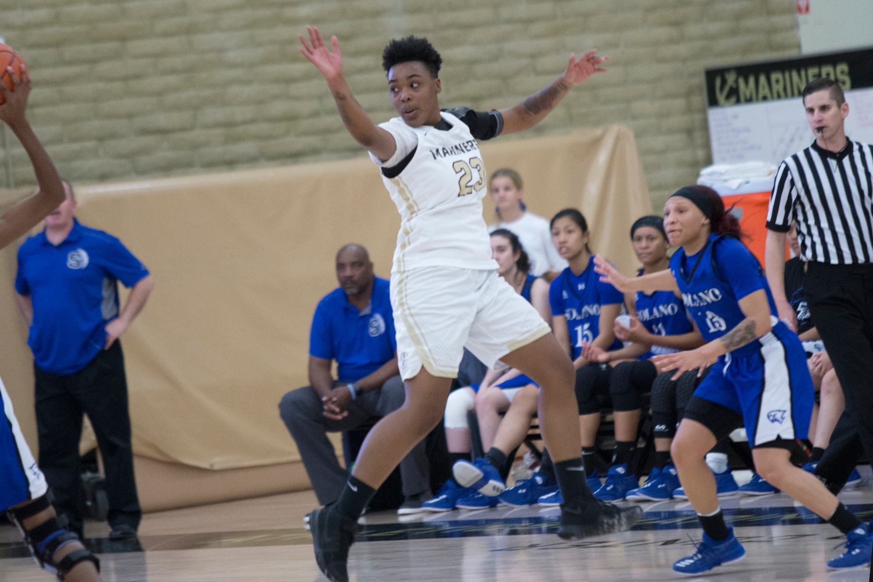 COM Women's Basketball Falls To Merritt 67-62