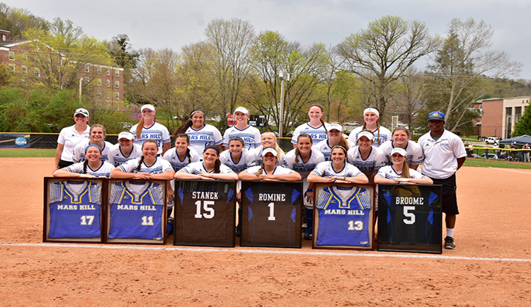 Mars Hill splits with Catawba on Senior Day