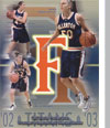 2002-03 Women's Basketball Media Guide Cover