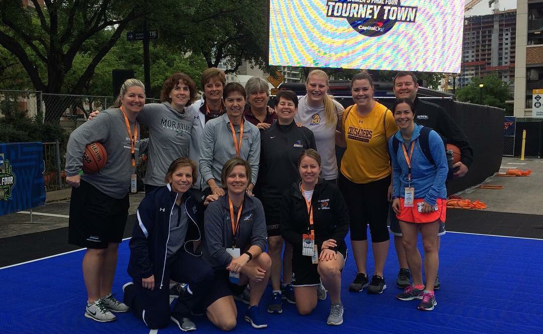 Head Coach Jackie Boswell Participates in NCAA Youth Clinic at Final Four