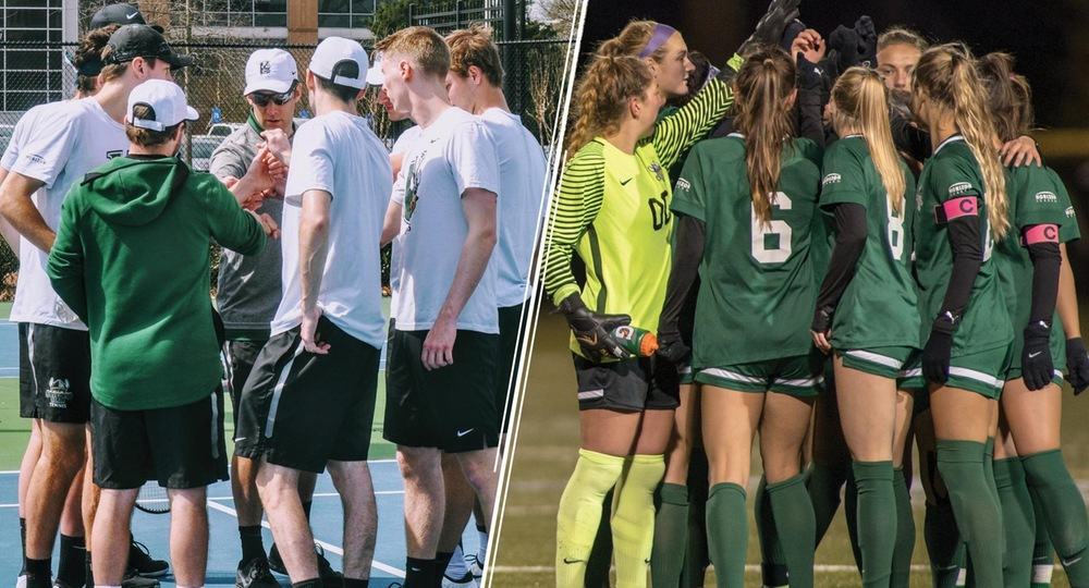 Men's Tennis & Women's Soccer Earn HL Raise Your Sights School Awards