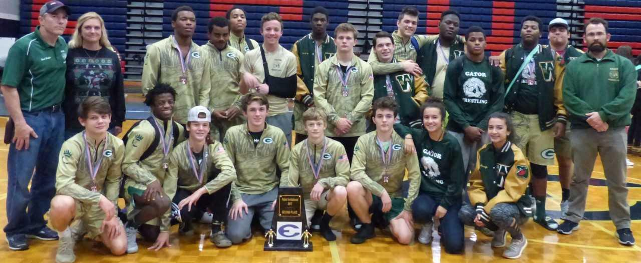 Ware Wrestlers Keep Pinning the Competition