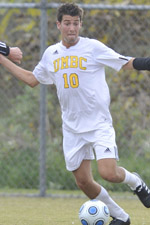 Mark Lubetkin scored both of his career goals in last season's America East Tournament.