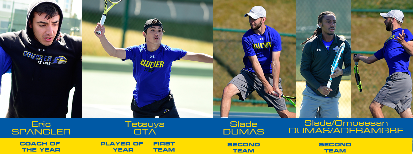 Ota And Spangler Both Earn Major Awards To Highlight Goucher's Landmark Conference Men's Tennis Honors