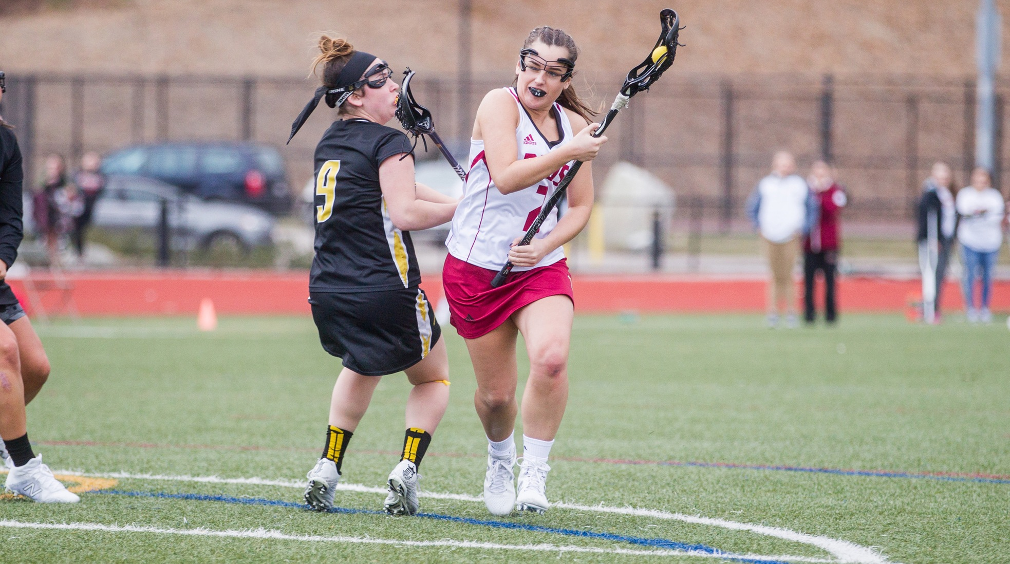 Big Second Half Lifts Women's Lacrosse Over Rivier