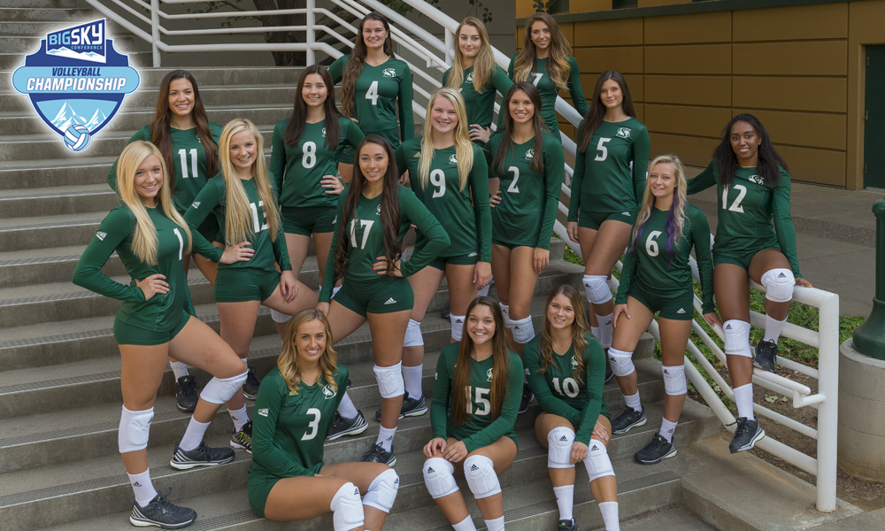VOLLEYBALL BEGINS BIG SKY TOURNAMENT ON THURSDAY VS. EASTERN WASHINGTON