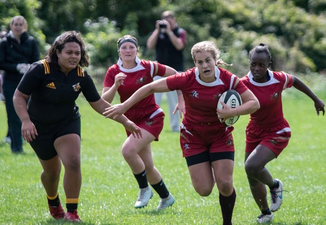 Women's Rugby: Norwich Falls at Bowdoin