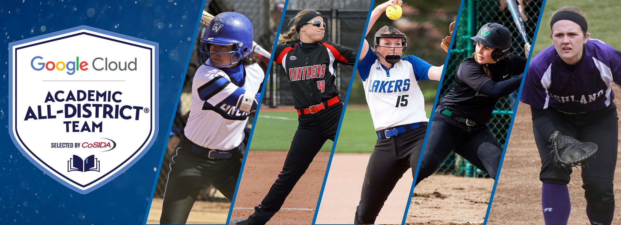 Five Earn Google Cloud Academic All-District Softball Recognition