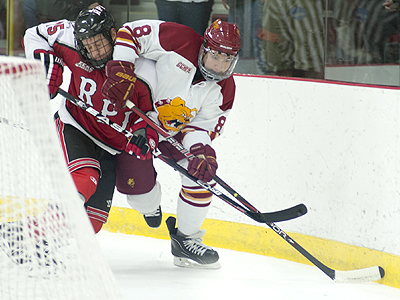 Bulldogs Sweep RPI In Home-Opening Series