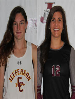 Christina Platt and Alexa Runyon Co-Athletes of the Week