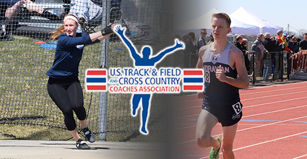 The Moravian men's and women's track & field teams are ranked fourth in the Mideast Region by the USTFCCCA.