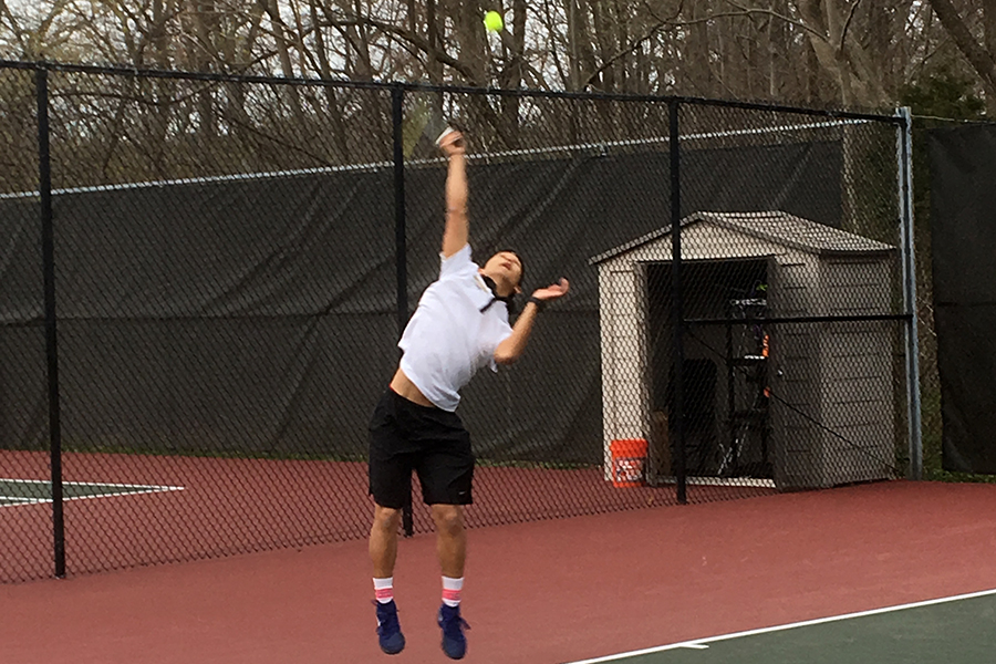 Men's Tennis Doubles up Curry