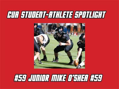 CUA Student-Athlete Spotlight - Mike O'Shea