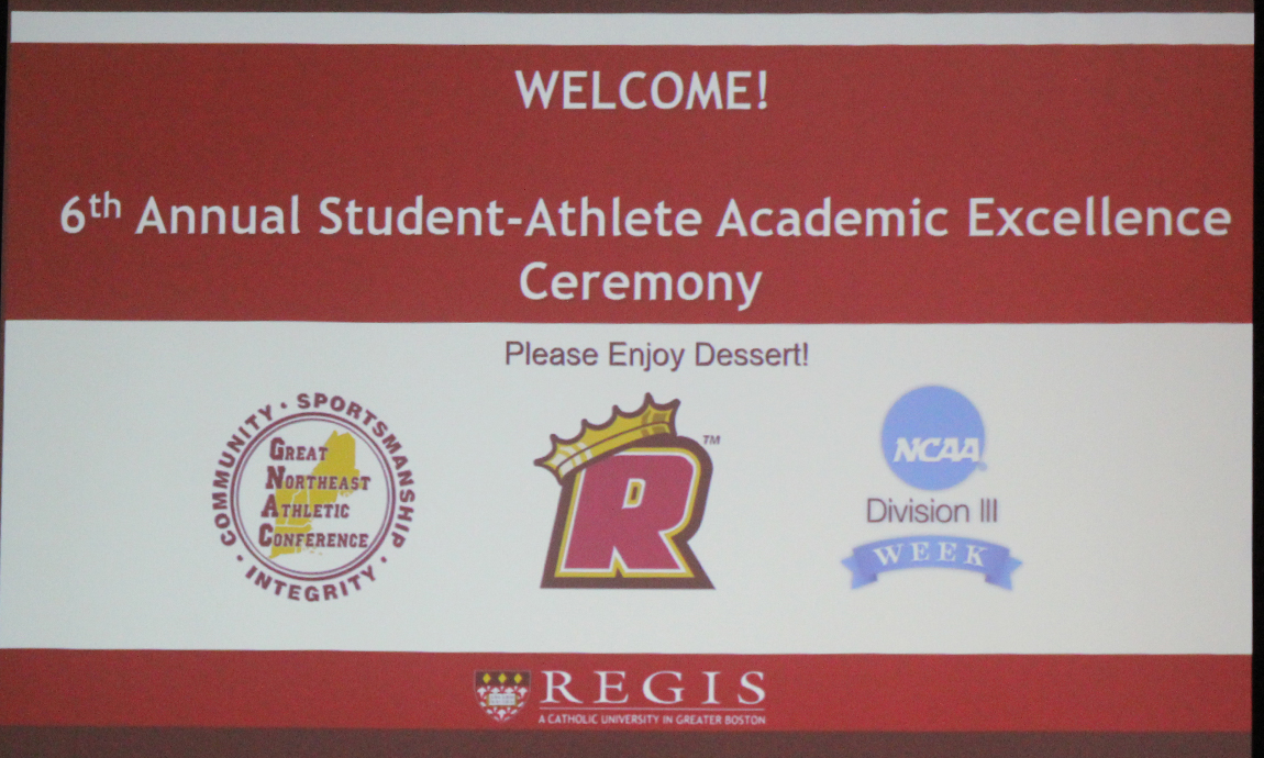 Top Regis Scholar-Athletes Honored at Academic Excellence Ceremony
