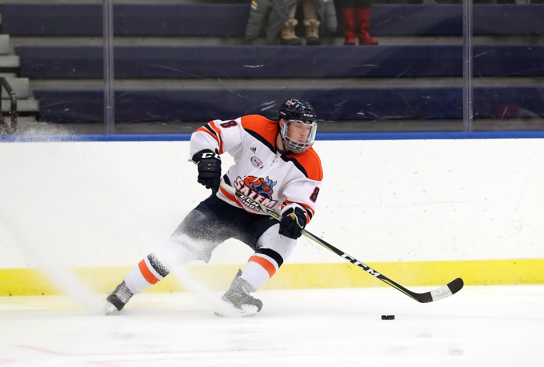 Salem State Clips Fitchburg State 2-1