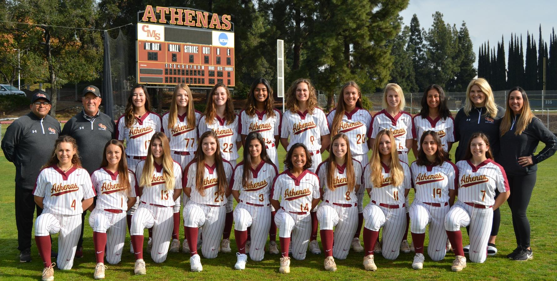 CMS Softball Favored to Win 2020 SCIAC Championship