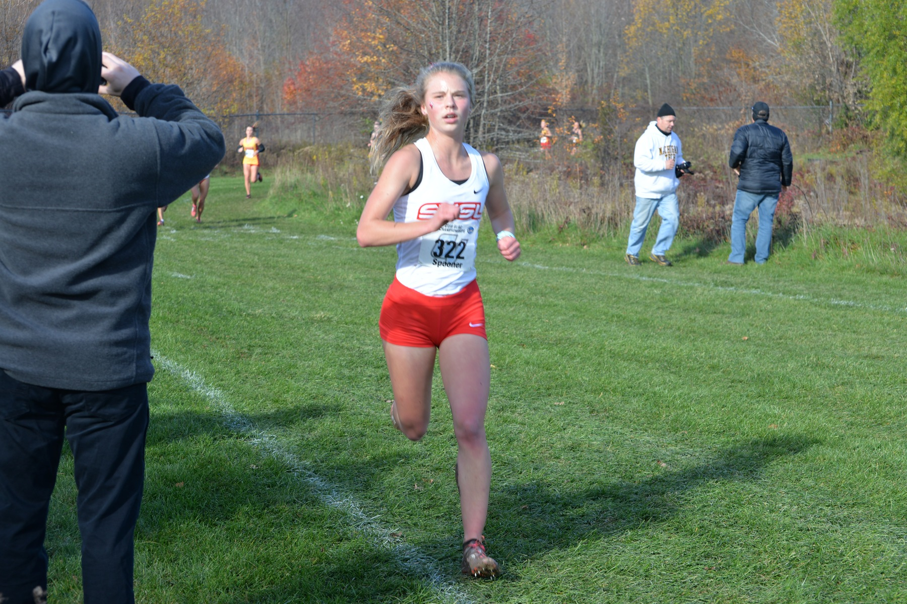 SVSU Cross Country Teams Compete in Lewis Crossover