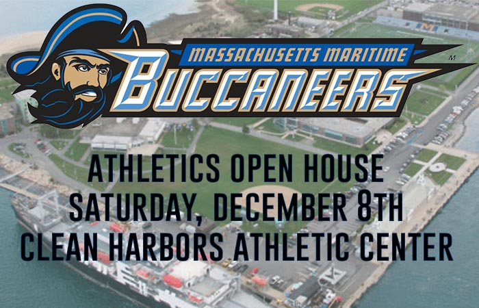Massachusetts Maritime Athletic Department Holding Athletic Open House on Saturday, December 8th