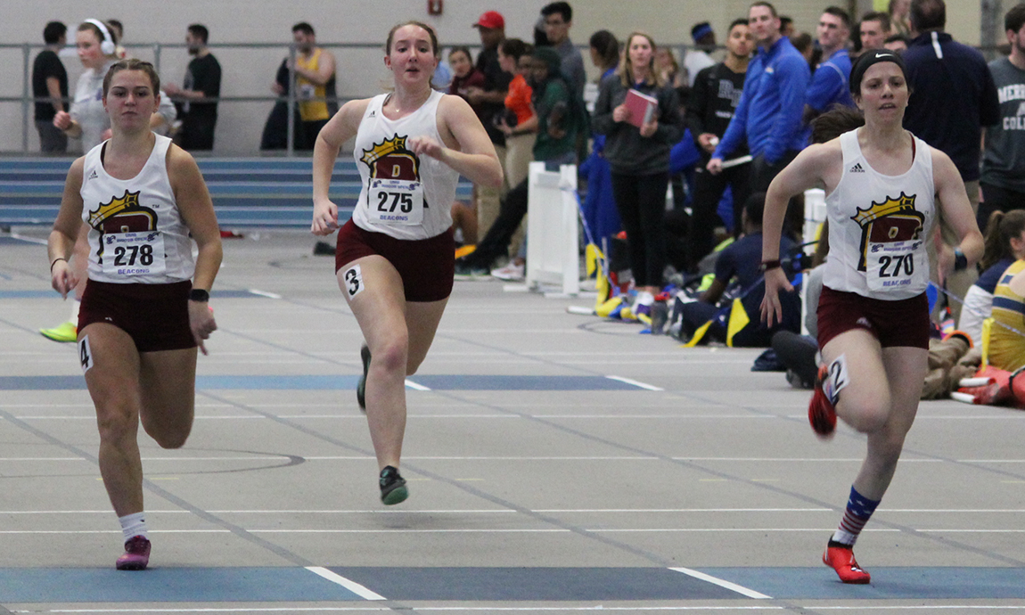 Pride Women's Track and Field Starts Indoor Campaign