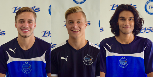 Ferguson, Elder and Syed named to state soccer academic team