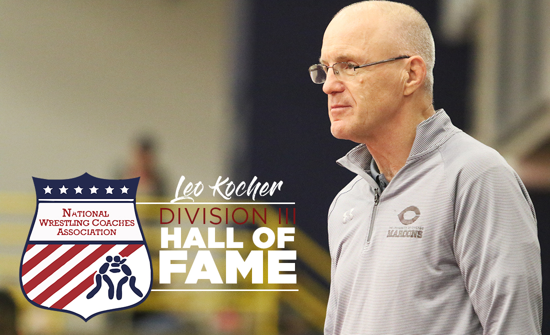 Leo Kocher Inducted into NWCA Hall of Fame