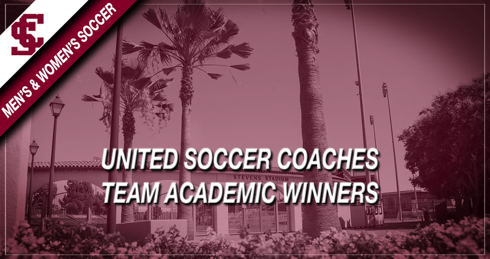 Men's and Women's Soccer Bring Home United Soccer Coaches Team Academic Award