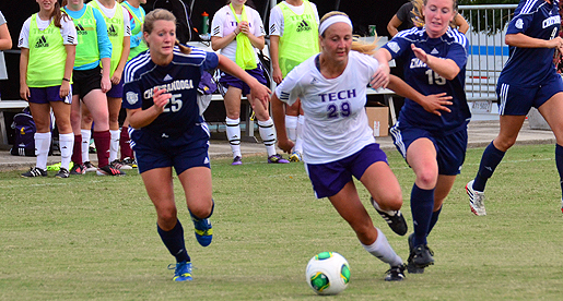 Two second half goals lift Chattanooga over Golden Eagles, 2-1