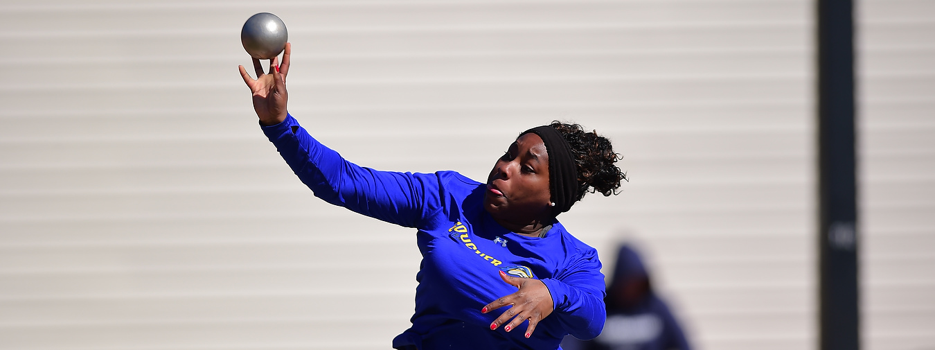 Gunter Takes Two First And Sets New School Record In Discus To Lead Goucher Track And Field At Battlefield Relays