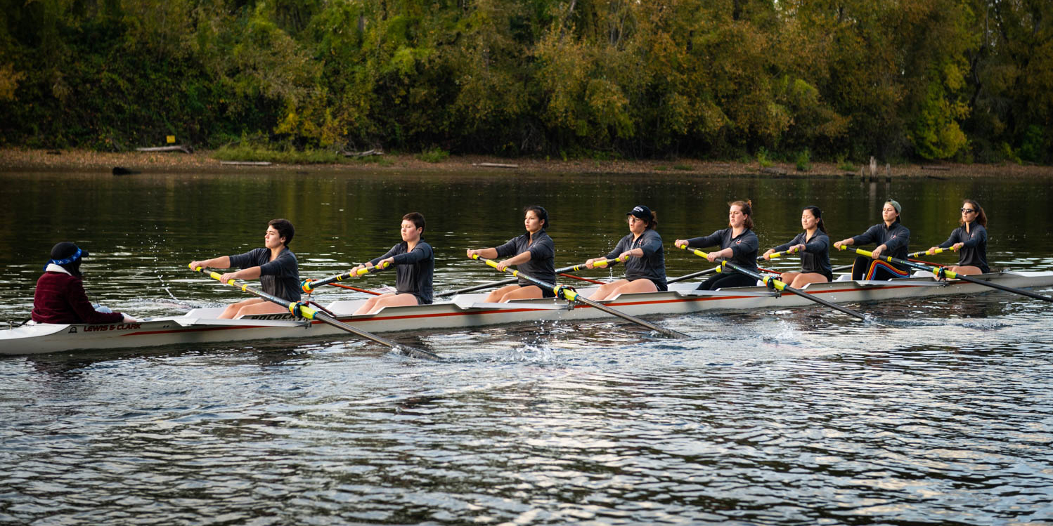 Pioneers looking towards spring as they finish out the fall season at Head of the Lake Regatta