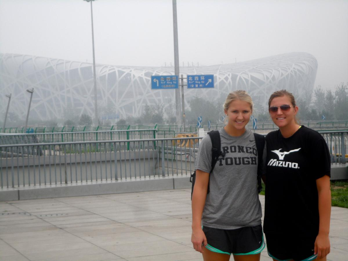 DAY 14!!: Volleyball's Lommori and Douglas Blog Daily from China!