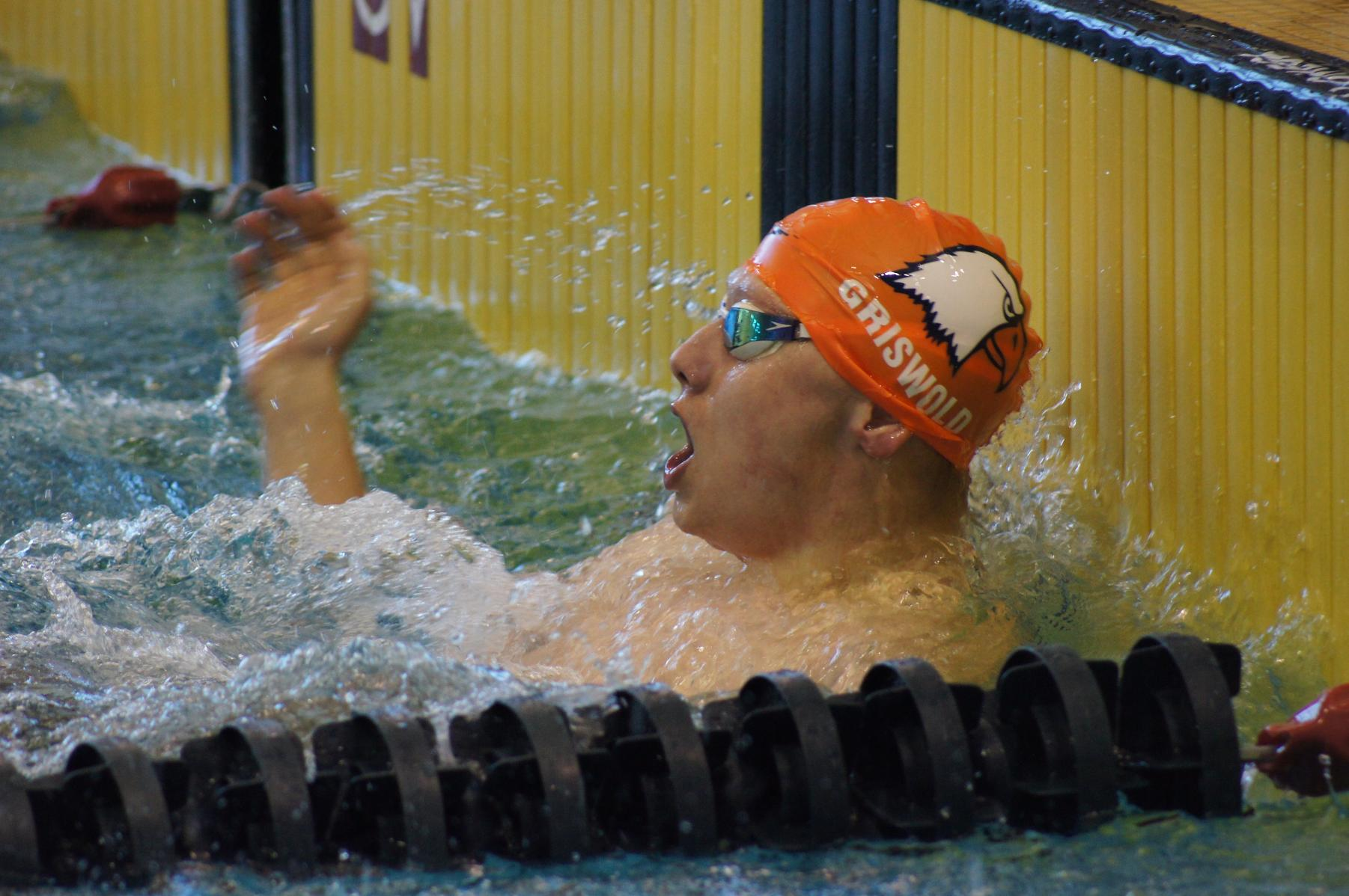 Griswold Sets Paralympic Record in Heat One of the S8 100m Backstroke