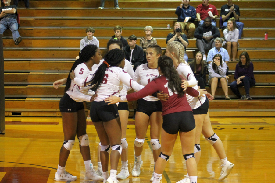 Guilford College Volleyball Team