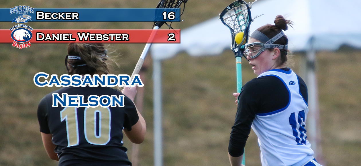 Nelson Paces Women's Lacrosse Over DWC