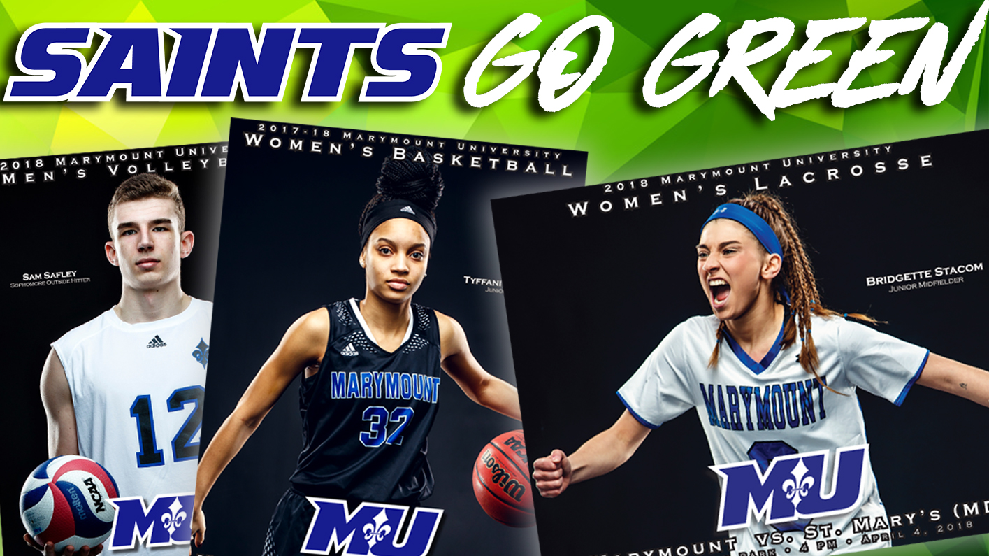 Marymount Athletics Is Going Green! Game Day Programs Going Digital Starting Fall 2018