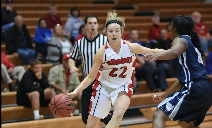 Women's Basketball Falls 64-54 to Heidelberg