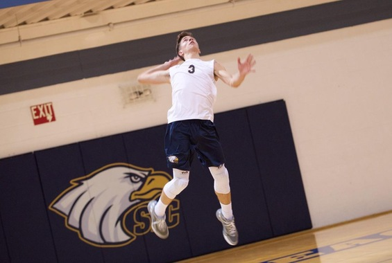 Men's Volleyball Splits Non-Conference Matches at Arcadia