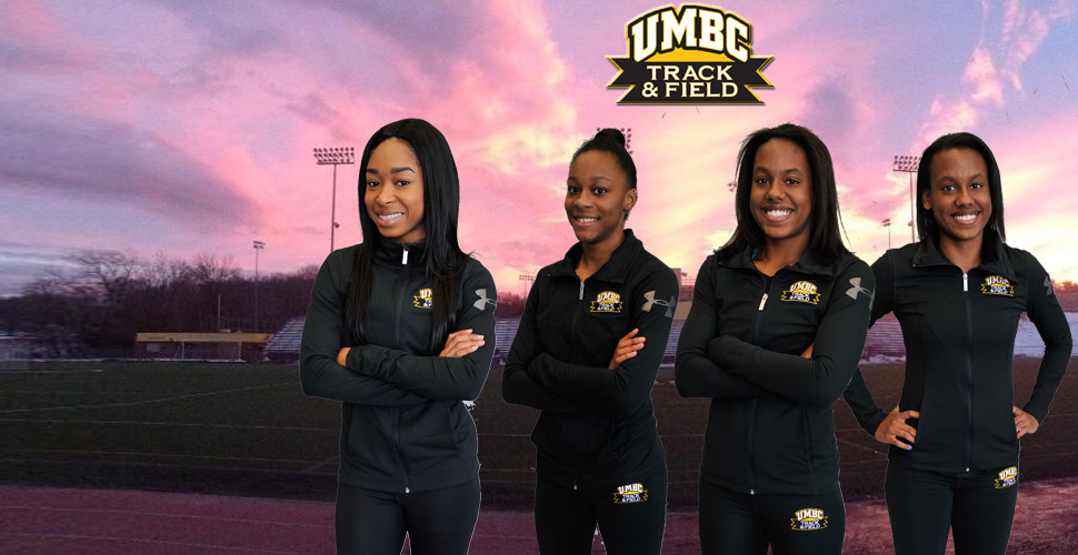 Tillman, Wallace, Kara and Erin Patrice Set School Record in 4x100m Relay; Retrievers Complete ECAC/IC4A Championships