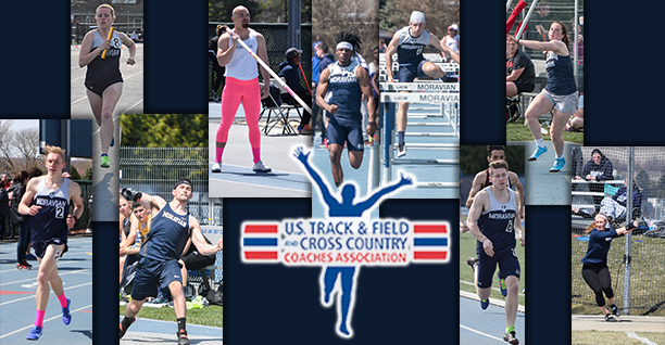 Nine Greyhounds named USTFCCCA All-Mideast Region honorees.
