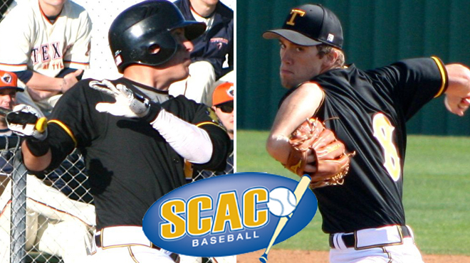 TLU's DeBlanc, Snider Named SCAC Baseball Players of the Week
