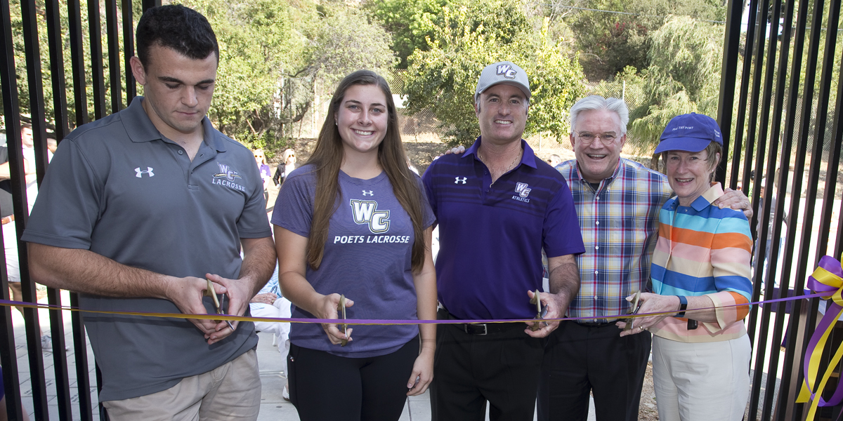 Ribbon cutting ceremony 'officially' opens Memorial Stadium & Aubrey Bonham Track