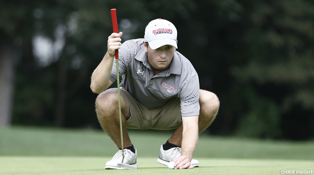 Men's Golf in the Hunt After Day One at McDaniel