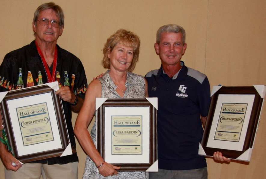 Bauduin is inducted in California Community College Cross Country & Track Coaches Association Hall of Fame