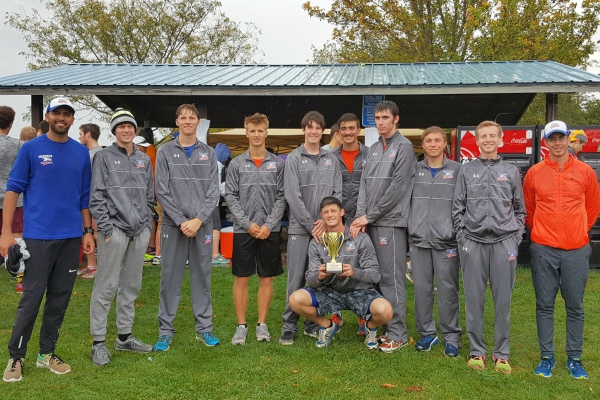 Men's Cross Country Takes 2nd at Fighting Bee Invitational