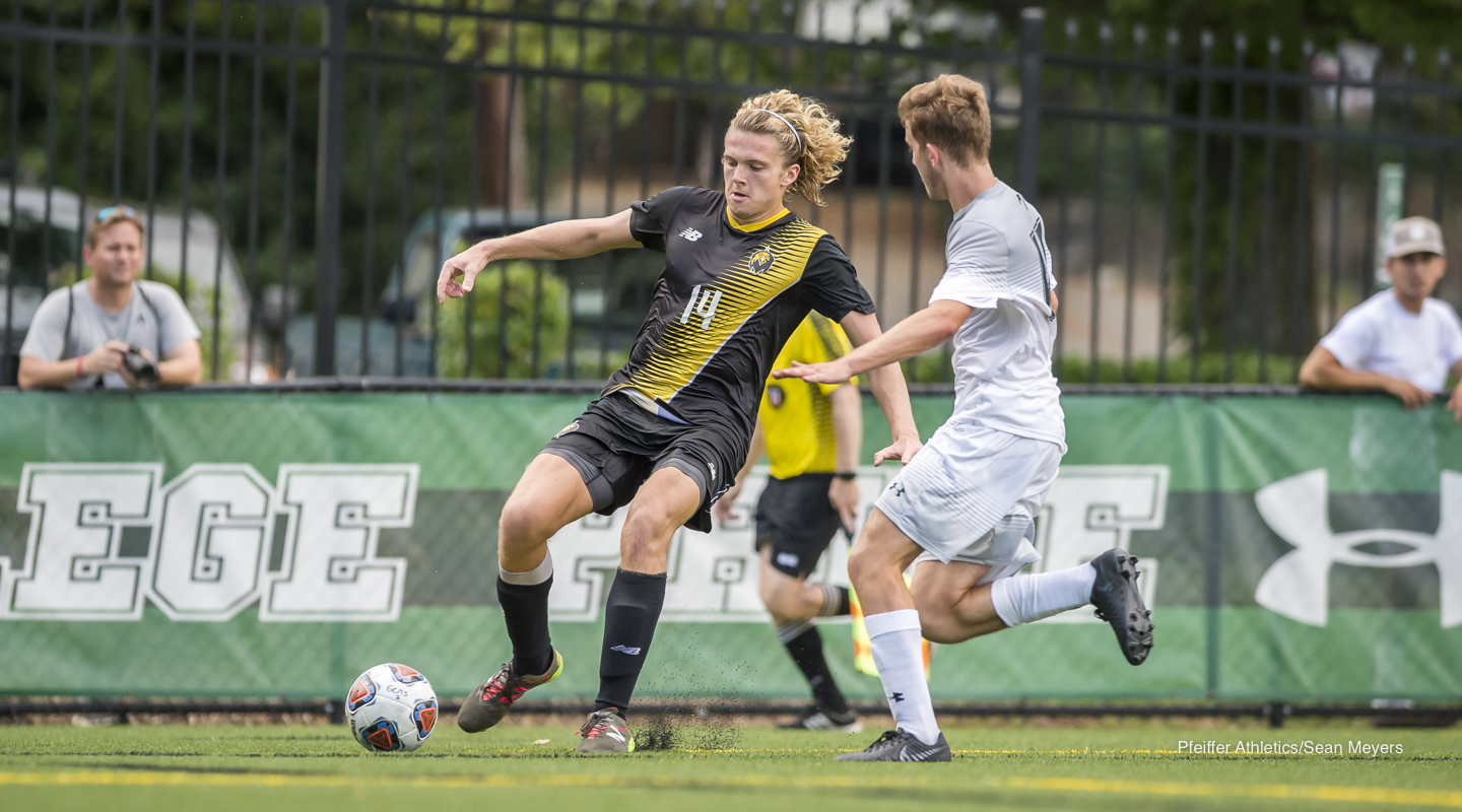 Pfeiffer Men's Soccer Takes 4-3 Season Opening Win at Guilford