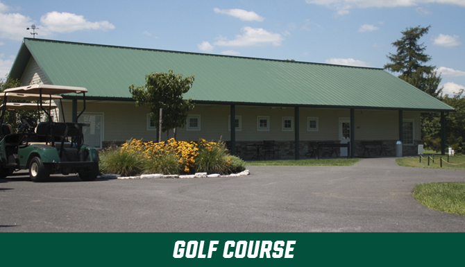 Golf Course gallery for pro shop, teaching center, practice and playing facilities