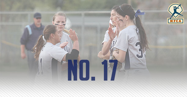 Moravian College softball team ranked No. 17 in latest NFCA DIII Top 25 Poll.